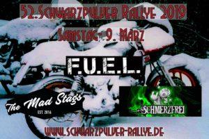 Bands Schwarzpulver Rallye 2019